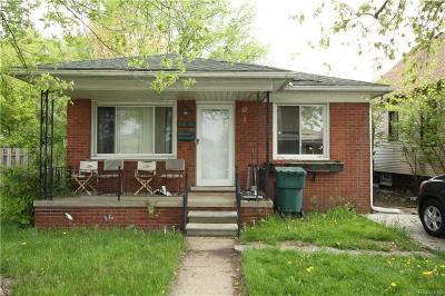 Lincoln Park Single Family Home For Sale: 1470 Cicotte