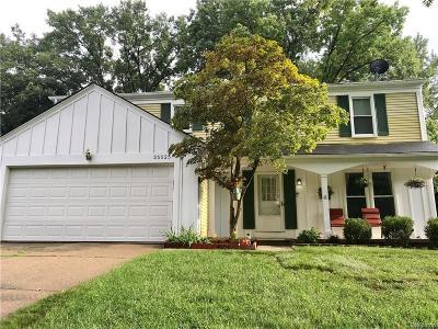 Farmington Hills Single Family Home For Sale: 35025 Concord Ln