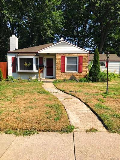 Oak Park Single Family Home For Sale: 10600 Oak Park Blvd