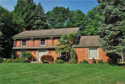 Bloomfield Hills Single Family Home For Sale: 4284 Covered Bridge Rd