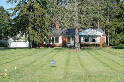 Belleville Single Family Home For Sale: 10960 Hannan Rd