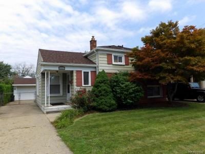 Allen Park Single Family Home For Sale: 15140 Hanfor Ave