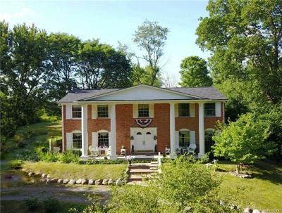 Plymouth Single Family Home For Sale: 4835 Napier Crt