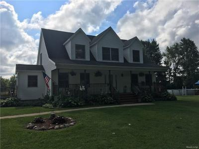 St. Clair Single Family Home For Sale: 1146 Capac Rd