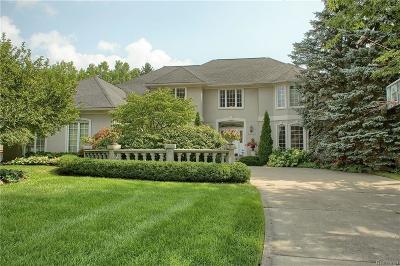 Farmington Hills Single Family Home For Sale: 30755 Country Ridge Cir