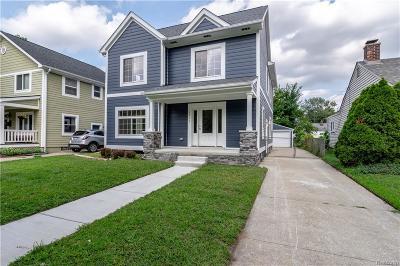 Royal Oak Single Family Home For Sale: 1311 Hoffman Ave