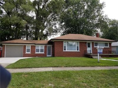 Eastpointe Single Family Home For Sale: 22866 Beechwood