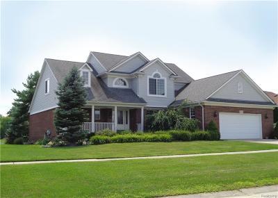 Macomb MI Single Family Home For Sale: $342,500