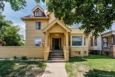 Detroit Single Family Home For Sale: 867 E Grand Blvd