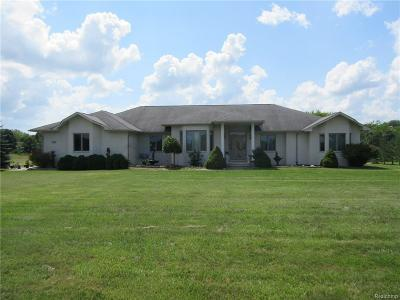 Lenox Single Family Home For Sale: 61375 New Haven Rd