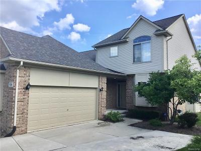 Clinton Township Condo/Townhouse For Sale: 17354 Suffield Dr