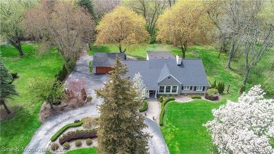 Bloomfield Hills Single Family Home For Sale: 5350 Longmeadow Rd