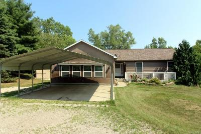 Lapeer Single Family Home For Sale: 5545 Lakeview Blvd