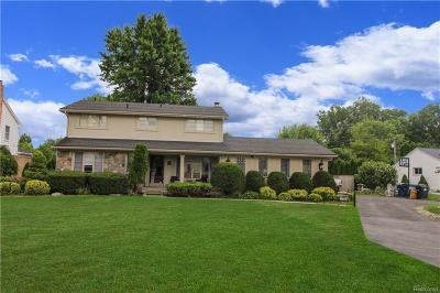 Westland Single Family Home For Sale: 39155 Palmer Rd