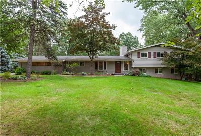 Franklin Single Family Home For Sale: 30650 Harlincin Crt