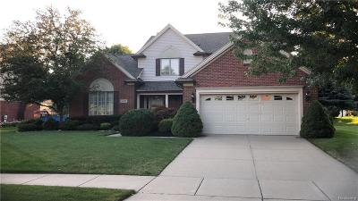 Shelby Twp Single Family Home For Sale: 46729 Glen Pointe Dr