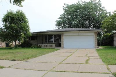 Sterling Heights Single Family Home For Sale: 35312 Dearing Dr