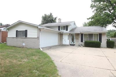 Clinton Township Single Family Home For Sale: 34311 Chope Plc
