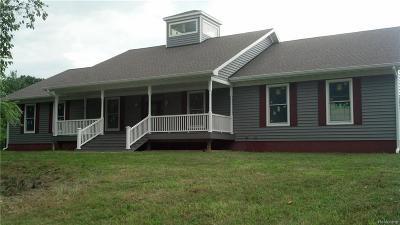 Oakland Single Family Home For Sale: 14200 Fagan Rd