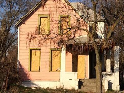 Detroit Single Family Home For Sale: 2188 Meldrum St