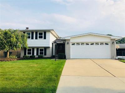 Trenton Single Family Home For Sale: 20497 Bourassa Ave