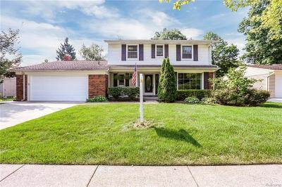 Livonia Single Family Home For Sale: 36517 Ladywood St