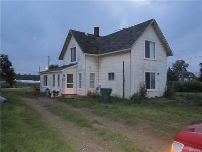 Memphis Single Family Home For Sale: 12987 Belle River Rd