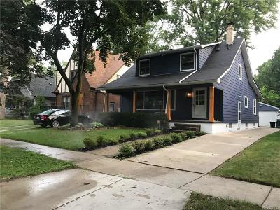 Royal Oak Single Family Home For Sale: 715 E 3rd St