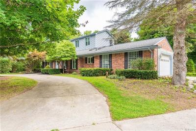 Macomb Single Family Home For Sale: 52240 Eastmoor Ln