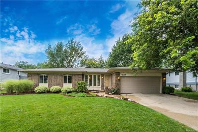 Troy Single Family Home For Sale: 3855 Kings Point Dr