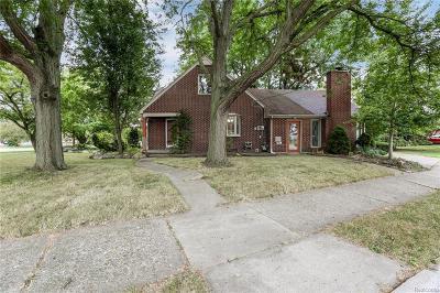 Allen Park Single Family Home For Sale: 9000 Allen