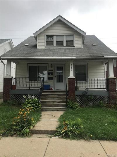 Dearborn Multi Family Home For Sale: 4870 Curtis St