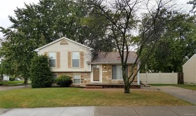 Clinton Township Single Family Home For Sale: 41907 Cimarron St