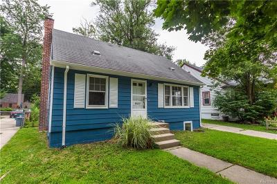 Royal Oak Single Family Home For Sale: 613 S Vermont Ave