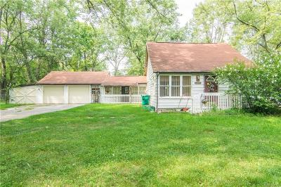 Waterford Single Family Home For Sale: 5446 Savoy Dr