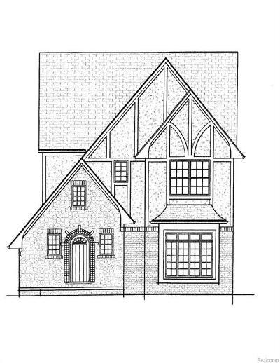 "Royal Oak Single Family Home For Sale: Parkdale ""lot A"" Rd"