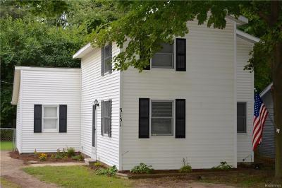 Rochester Hills Single Family Home For Sale: 3151 W Auburn Rd