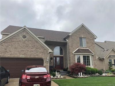 Trenton Single Family Home For Sale: 24604 Helene Dr