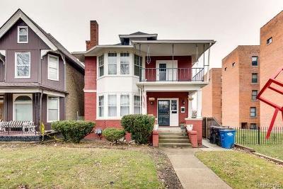 Detroit Multi Family Home For Sale: 1071 Van Dyke St