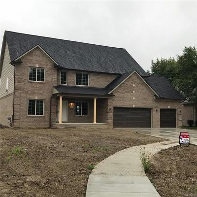 Clinton Township Single Family Home For Sale: 41860 Antoinette Crt