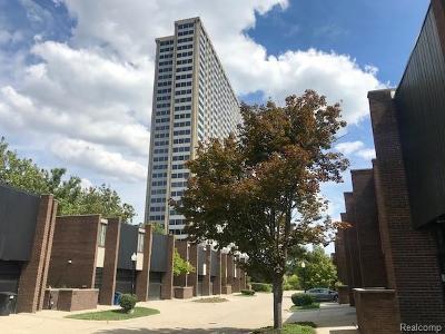 Detroit Condo/Townhouse For Sale: 1244 Navarre Pl