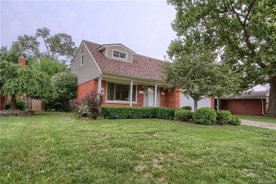 Allen Park Single Family Home For Sale: 4562 Larme Ave
