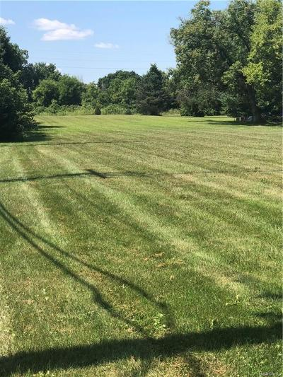 Harrison Twp Residential Lots & Land For Sale: Lanse Creuse