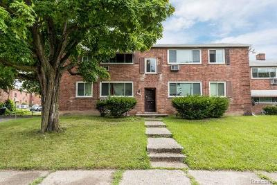 Detroit Multi Family Home For Sale: 12880 Dolphin St