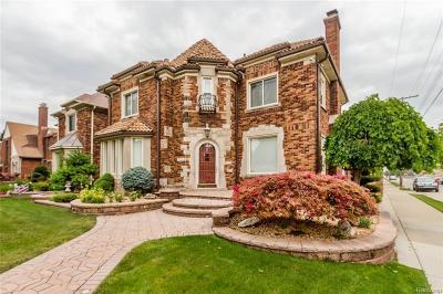 Dearborn Single Family Home For Sale: 7006 Oakman