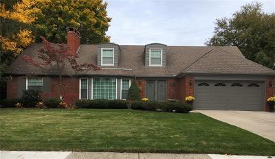 Grosse Pointe Woods Single Family Home For Sale: 580 Cook Rd