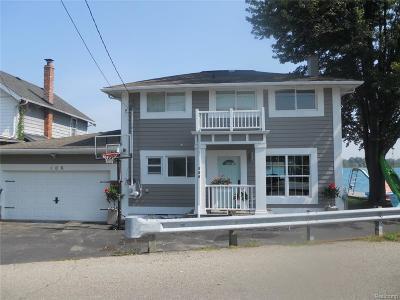 Algonac Single Family Home For Sale: 106 Saint Clair River Dr