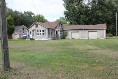 Algonac Single Family Home For Sale: 4460 Taft Rd
