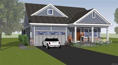 Westland Single Family Home For Sale: 24 Hawthorne Oaks Dr