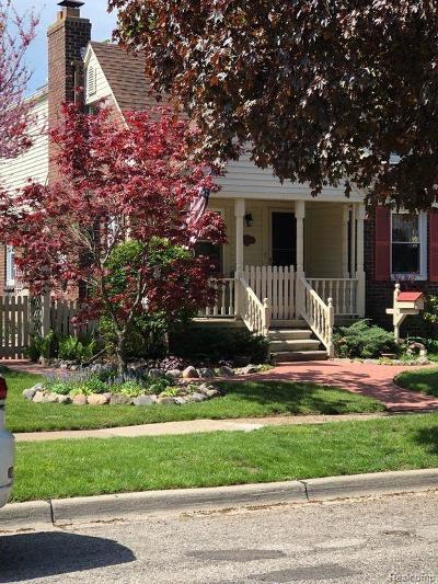 Allen Park Single Family Home For Sale: 15729 Thomas Ave